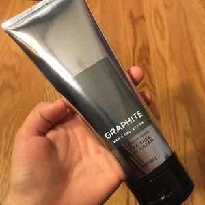 NWT Graphite Men's Bath and Body Works Lotion